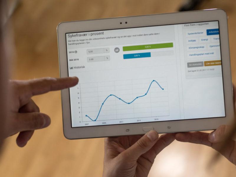 Tips og verktøy på tablet